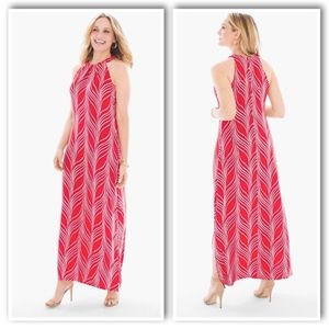 CHICO'S TRAVELERS CLASSIC GRACEFUL LINES DRESS